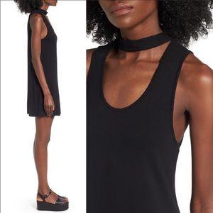 Top Shop Flippy Choker Black Tunic Size 2
